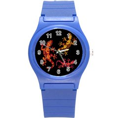 Ornate Lizards Round Plastic Sport Watch (s)