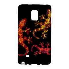 Ornate Lizards Galaxy Note Edge by Valentinaart