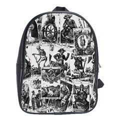 Tarot Cards Pattern School Bags(large)