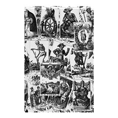 Tarot Cards Pattern Shower Curtain 48  X 72  (small)  by Valentinaart