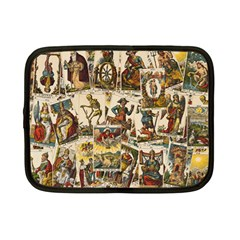 Tarot Cards Pattern Netbook Case (small)  by Valentinaart