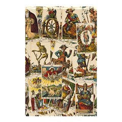 Tarot Cards Pattern Shower Curtain 48  X 72  (small)