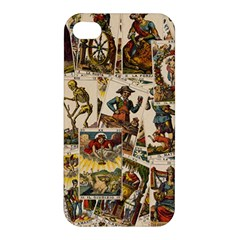 Tarot Cards Pattern Apple Iphone 4/4s Hardshell Case