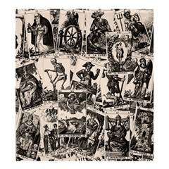 Tarot Cards Pattern Shower Curtain 66  X 72  (large)  by Valentinaart