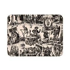 Tarot Cards Pattern Double Sided Flano Blanket (mini)