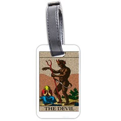 The Devil   Tarot Luggage Tags (one Side)