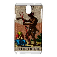 The Devil   Tarot Samsung Galaxy Note 3 N9005 Hardshell Case by Valentinaart