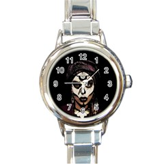 Voodoo  Witch  Round Italian Charm Watch