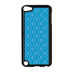 Blue Ornamental Pattern Apple Ipod Touch 5 Case (black) by TastefulDesigns
