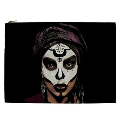 Voodoo  Witch  Cosmetic Bag (xxl)  by Valentinaart