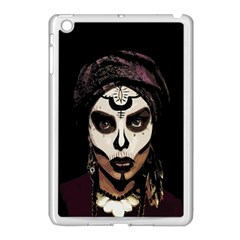 Voodoo  Witch  Apple Ipad Mini Case (white) by Valentinaart