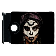 Voodoo  Witch  Apple Ipad 2 Flip 360 Case by Valentinaart