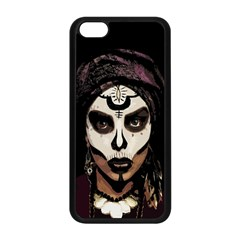 Voodoo  Witch  Apple Iphone 5c Seamless Case (black) by Valentinaart