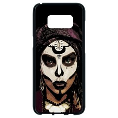 Voodoo  Witch  Samsung Galaxy S8 Black Seamless Case by Valentinaart
