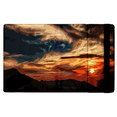 Landscape Apple Ipad 3/4 Flip Case