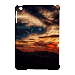 Landscape Apple Ipad Mini Hardshell Case (compatible With Smart Cover)