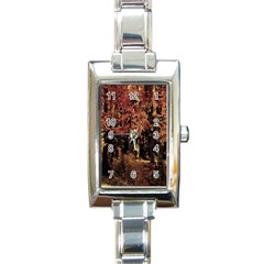 Landscape Rectangle Italian Charm Watch by Valentinaart