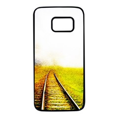 Landscape Samsung Galaxy S7 Black Seamless Case