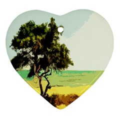 Landscape Ornament (heart)