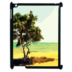 Landscape Apple Ipad 2 Case (black) by Valentinaart