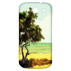 Landscape Samsung Galaxy S3 S Iii Classic Hardshell Back Case by Valentinaart