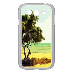 Landscape Samsung Galaxy Grand Duos I9082 Case (white) by Valentinaart