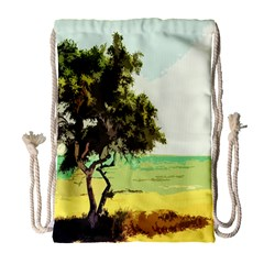 Landscape Drawstring Bag (large)