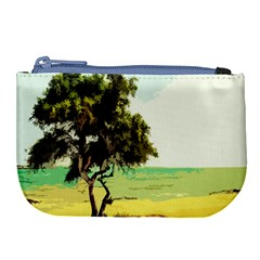 Landscape Large Coin Purse by Valentinaart