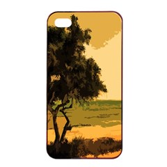 Landscape Apple Iphone 4/4s Seamless Case (black)