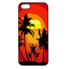 Landscape Apple Iphone 5 Seamless Case (black) by Valentinaart