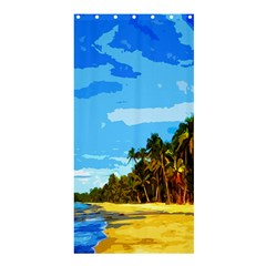 Landscape Shower Curtain 36  X 72  (stall)