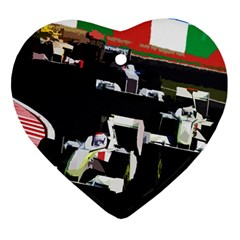 Formula 1 Ornament (heart) by Valentinaart