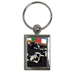 Formula 1 Key Chains (rectangle)  by Valentinaart