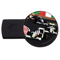Formula 1 Usb Flash Drive Round (2 Gb) by Valentinaart