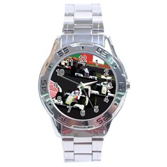 Formula 1 Stainless Steel Analogue Watch by Valentinaart
