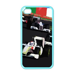 Formula 1 Apple Iphone 4 Case (color) by Valentinaart