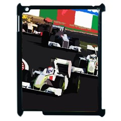 Formula 1 Apple Ipad 2 Case (black) by Valentinaart