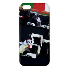 Formula 1 Apple Iphone 5 Premium Hardshell Case by Valentinaart