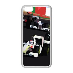 Formula 1 Apple Iphone 5c Seamless Case (white) by Valentinaart