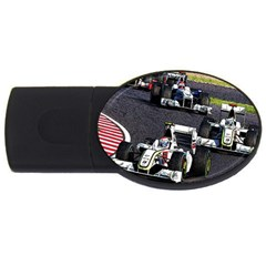 Formula 1 Usb Flash Drive Oval (4 Gb) by Valentinaart