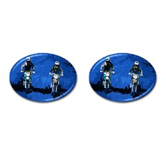 Motorsport  Cufflinks (oval) by Valentinaart