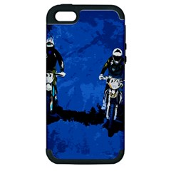 Motorsport  Apple Iphone 5 Hardshell Case (pc+silicone) by Valentinaart
