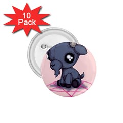Baby Goat 1 75  Buttons (10 Pack) by lvbart
