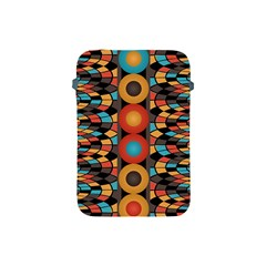 Colorful Geometric Composition Apple Ipad Mini Protective Soft Cases by linceazul