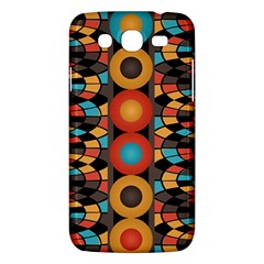 Colorful Geometric Composition Samsung Galaxy Mega 5 8 I9152 Hardshell Case  by linceazul