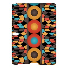 Colorful Geometric Composition Samsung Galaxy Tab S (10 5 ) Hardshell Case  by linceazul