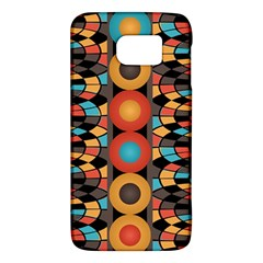 Colorful Geometric Composition Galaxy S6 by linceazul