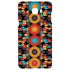 Colorful Geometric Composition Samsung C9 Pro Hardshell Case  by linceazul