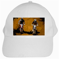 Motorsport  White Cap