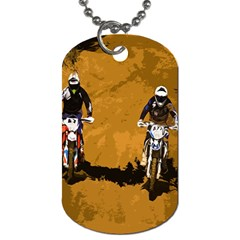 Motorsport  Dog Tag (two Sides) by Valentinaart